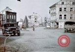 Image of ruins of town Germany, 1945, second 8 stock footage video 65675047585