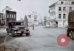 Image of ruins of town Germany, 1945, second 9 stock footage video 65675047585