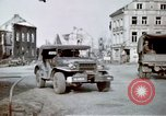 Image of ruins of town Germany, 1945, second 10 stock footage video 65675047585