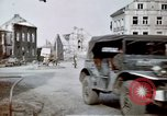Image of ruins of town Germany, 1945, second 11 stock footage video 65675047585