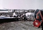 Image of wrecked British Halifax III aircraft Germany, 1945, second 12 stock footage video 65675047587