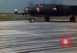 Image of B-26 Marauder bomber aircraft Germany, 1945, second 7 stock footage video 65675047600