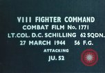 Image of German plane European Theater, 1944, second 3 stock footage video 65675047625