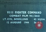 Image of strafing supply train European Theater, 1944, second 1 stock footage video 65675047630