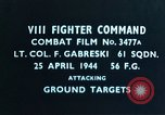 Image of Lieutenant Colonel F Gabreski European Theater, 1944, second 2 stock footage video 65675047638