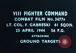 Image of Lieutenant Colonel F Gabreski European Theater, 1944, second 3 stock footage video 65675047638