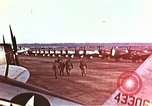 Image of P-47 Thunderbolt fighter planes of 36th Fighter Group Belgium, 1945, second 3 stock footage video 65675047641