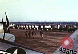 Image of P-47 Thunderbolt fighter planes of 36th Fighter Group Belgium, 1945, second 4 stock footage video 65675047641