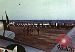 Image of P-47 Thunderbolt fighter planes of 36th Fighter Group Belgium, 1945, second 5 stock footage video 65675047641