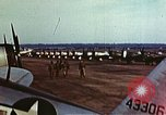 Image of P-47 Thunderbolt fighter planes of 36th Fighter Group Belgium, 1945, second 6 stock footage video 65675047641
