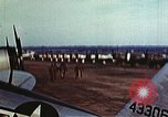 Image of P-47 Thunderbolt fighter planes of 36th Fighter Group Belgium, 1945, second 8 stock footage video 65675047641