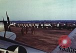 Image of P-47 Thunderbolt fighter planes of 36th Fighter Group Belgium, 1945, second 10 stock footage video 65675047641