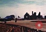 Image of P-47 Thunderbolt fighter planes Belgium, 1945, second 5 stock footage video 65675047643