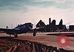 Image of P-47 Thunderbolt fighter planes Belgium, 1945, second 6 stock footage video 65675047643