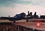 Image of P-47 Thunderbolt fighter planes Belgium, 1945, second 7 stock footage video 65675047643