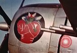 Image of P-47 Thunderbolt fighter aircraft Beauvechain Belgium, 1945, second 11 stock footage video 65675047646