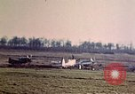 Image of P-47 Thunderbolt fighter planes Belgium, 1945, second 9 stock footage video 65675047650