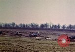 Image of P-47 Thunderbolt fighter planes Belgium, 1945, second 12 stock footage video 65675047650