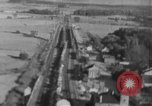 Image of strafing of train European Theater, 1944, second 8 stock footage video 65675047698