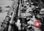 Image of strafing train and motor vehicles European Theater, 1944, second 7 stock footage video 65675047708