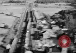 Image of strafing train and motor vehicles European Theater, 1944, second 8 stock footage video 65675047708