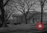 Image of President Eisenhower Washington DC White House USA, 1959, second 6 stock footage video 65675047730