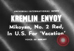 Image of Anastas Mikoyan New York United States USA, 1959, second 1 stock footage video 65675047731