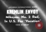 Image of Anastas Mikoyan New York United States USA, 1959, second 2 stock footage video 65675047731