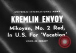 Image of Anastas Mikoyan New York United States USA, 1959, second 4 stock footage video 65675047731
