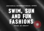 Image of fashion show Italy, 1959, second 1 stock footage video 65675047737