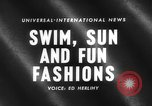 Image of fashion show Italy, 1959, second 2 stock footage video 65675047737