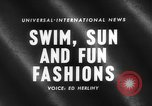 Image of fashion show Italy, 1959, second 4 stock footage video 65675047737