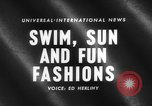 Image of fashion show Italy, 1959, second 5 stock footage video 65675047737