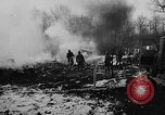 Image of wreckage of crashed plane Brussels Belgium, 1961, second 6 stock footage video 65675047740