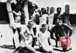 Image of water skiers Cypress Gardens Florida USA, 1956, second 4 stock footage video 65675047757