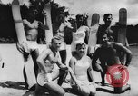 Image of water skiers Cypress Gardens Florida USA, 1956, second 5 stock footage video 65675047757