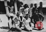 Image of water skiers Cypress Gardens Florida USA, 1956, second 7 stock footage video 65675047757
