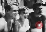 Image of water skiers Cypress Gardens Florida USA, 1956, second 8 stock footage video 65675047757