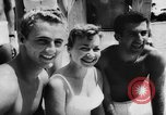 Image of water skiers Cypress Gardens Florida USA, 1956, second 9 stock footage video 65675047757
