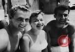 Image of water skiers Cypress Gardens Florida USA, 1956, second 10 stock footage video 65675047757