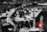 Image of water skiers Cypress Gardens Florida USA, 1956, second 12 stock footage video 65675047757
