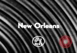 Image of Mardi Gras parade New Orleans Louisiana USA, 1957, second 2 stock footage video 65675047761