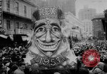 Image of Mardi Gras parade New Orleans Louisiana USA, 1957, second 4 stock footage video 65675047761