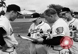 Image of Milwaukee Braves team Bradenton Florida, 1957, second 13 stock footage video 65675047762