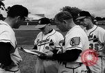 Image of Milwaukee Braves team Bradenton Florida, 1957, second 14 stock footage video 65675047762