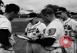 Image of Milwaukee Braves team Bradenton Florida, 1957, second 15 stock footage video 65675047762