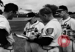 Image of Milwaukee Braves team Bradenton Florida, 1957, second 16 stock footage video 65675047762