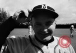 Image of Milwaukee Braves team Bradenton Florida, 1957, second 17 stock footage video 65675047762