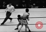Image of boxer Vince Shomo New York City USA, 1957, second 8 stock footage video 65675047763