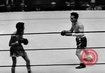 Image of boxer Vince Shomo New York City USA, 1957, second 10 stock footage video 65675047763
